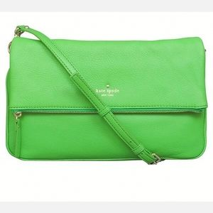 Kate Spade Cobble Hill Clarke Lime Green Purse
